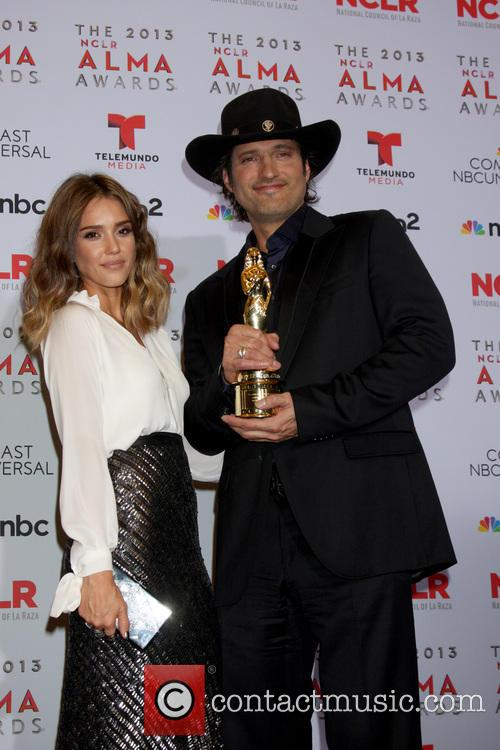 Jessica Alba and Robert Rodriguez 4