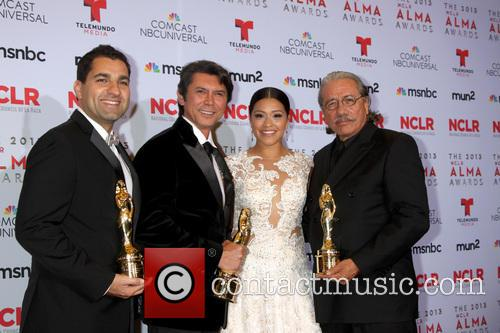 Lou Diamond Phillips, Gina Rodriguez, Edward James Olmos and Youssef Delara 4