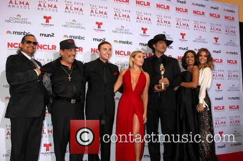 Tito Larriva, Danny Trejo, Daryl Sabara, Alexa Vega, Robert Rodriguez, Rosario Dawson and Jessica Alba 1