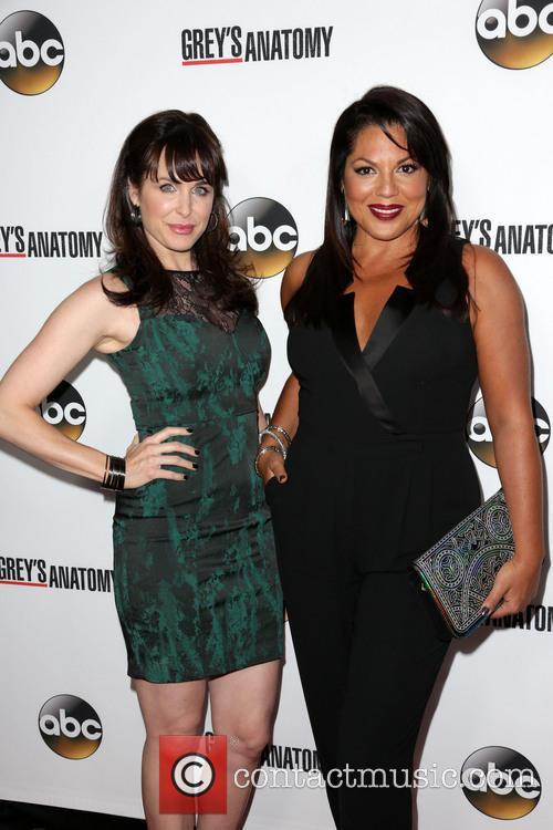 Danielle Bisutti and Sara Ramirez 2