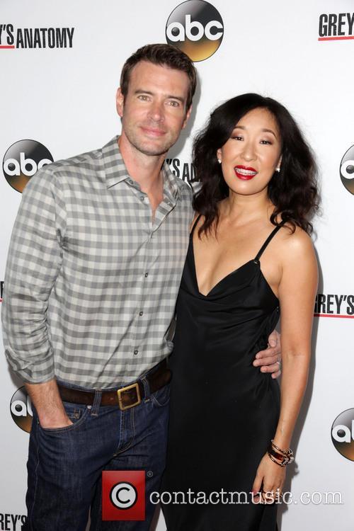 Scott Foley and Sandra Oh 2