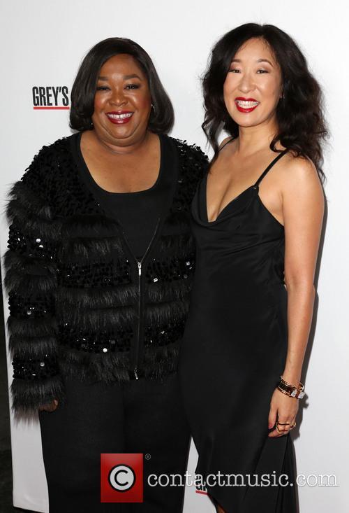 Shonda Rhimes and Sandra Oh 2