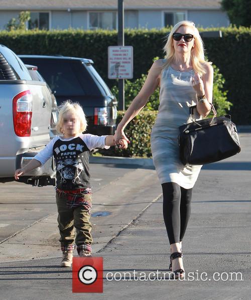 Gwen Stefani takes her son Zuma to a...