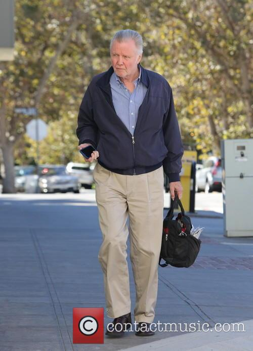 Jon Voight spotted out in Studio City