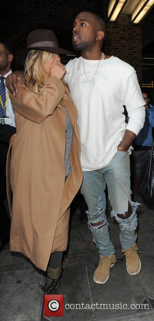Kanye West & Kim Kardashian St Pancreas