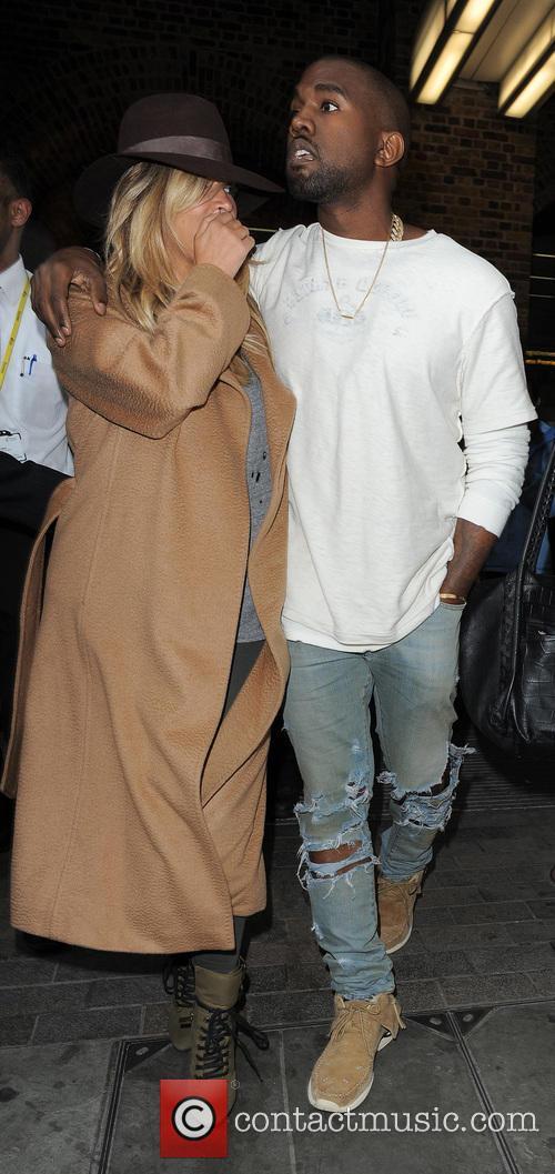 Kim Kardashian and Kanye West 15