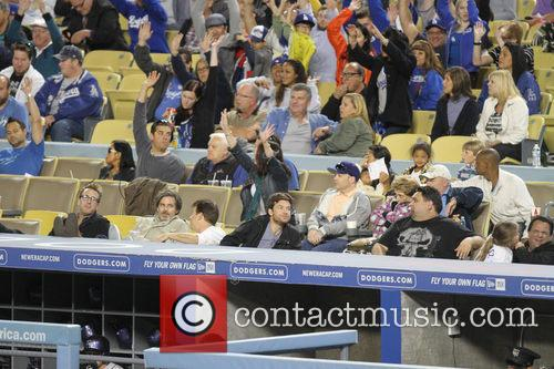 Jason Bateman, Dodger Stadium