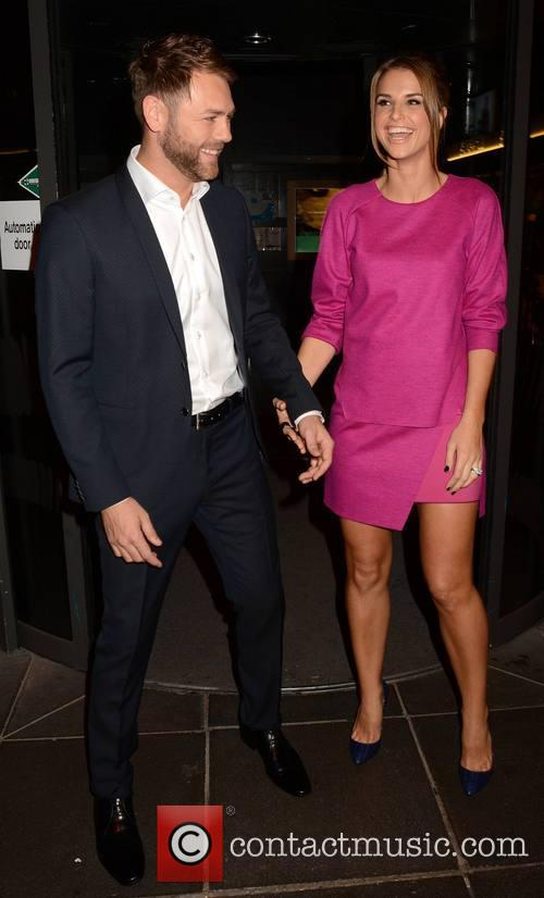 Brian Mcfadden and Vogue Williams Mcfadden 1