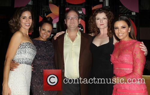 Ana Ortiz, Judy Reyes, Marc Cherry, Rebecca Wisocky and Eva Longoria 3