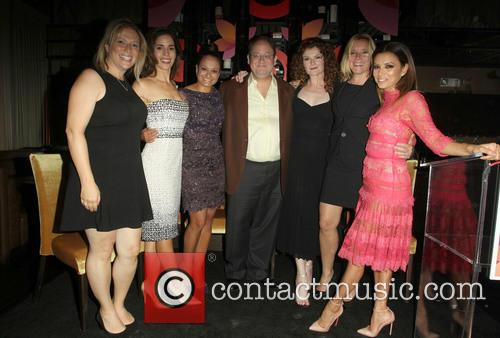 Ana Ortiz, Judy Reyes, Marc Cherry, Rebecca Wisocky, Eva Longoria and Nina Lederman 11