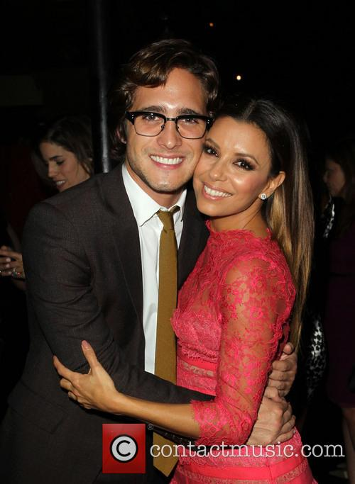 Diego Boneta and Eva Longoria 3