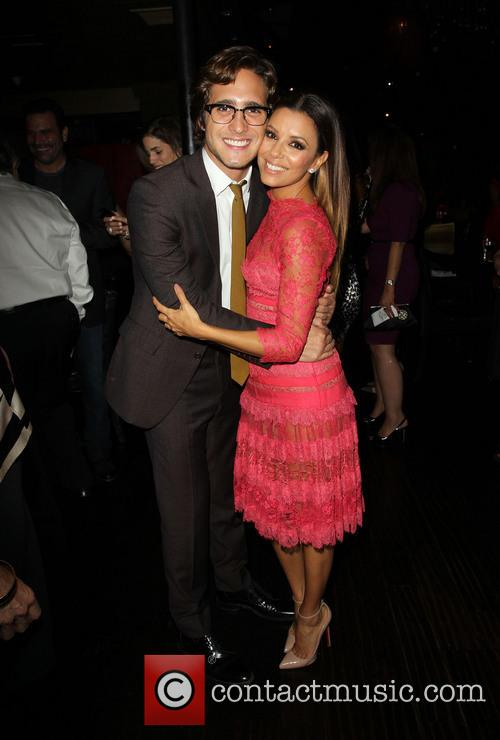 Diego Boneta and Eva Longoria 1