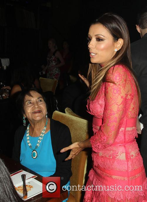 Dolores Huerta and Eva Longoria 5