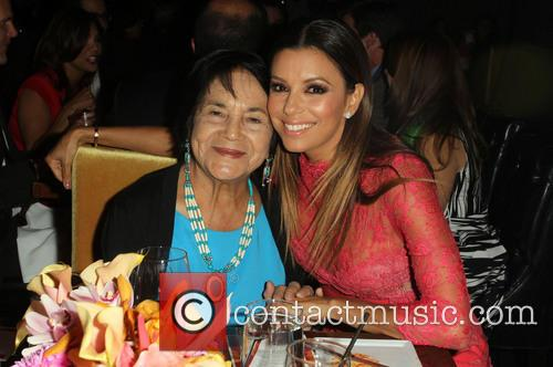 Dolores Huerta and Eva Longoria 6