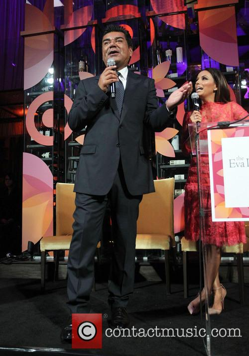 George Lopez and Eva Longoria 4