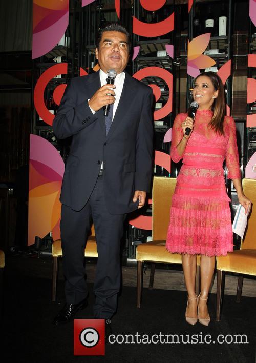 George Lopez and Eva Longoria 7