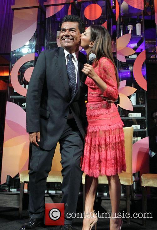 George Lopez and Eva Longoria