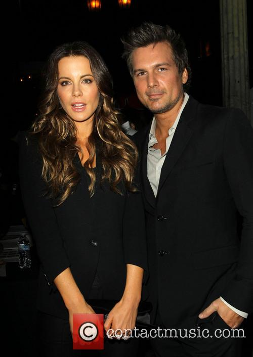 Kate Beckinsale and Len Wiseman 4