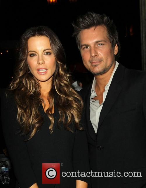Kate Beckinsale and Len Wiseman 5