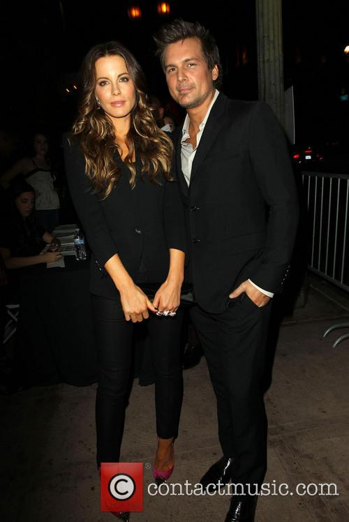 Kate Beckinsale and Len Wiseman 1