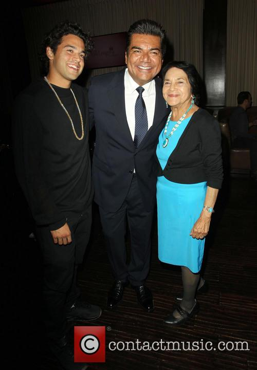 Paul Rodriguez, George Lopez and Dolores Huerta 3