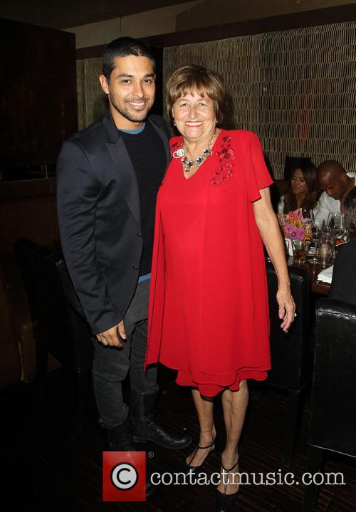Wilmer Valderrama and Ella Eva Mireles 4