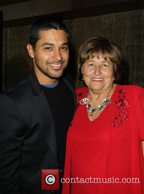 Wilmer Valderrama and Ella Eva Mireles 1