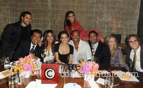 Wilmer Valderrama, George Lopez, Jackie Guerrido, Ana De La Reguera, Amaury Nolasco, Diego Boneta and Eva Longoria 3
