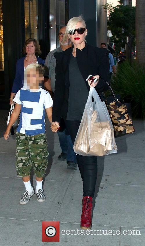 Gwen Stefani and Kingston Rossdale 14