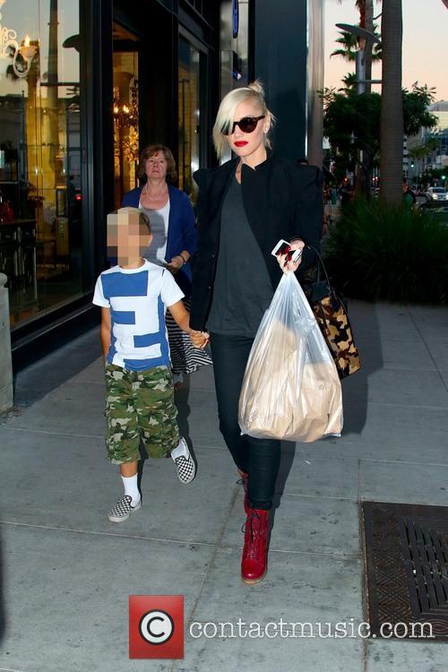 Gwen Stefani and Kingston Rossdale 20