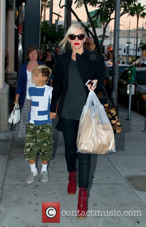 Gwen Stefani and Kingston Rossdale 22
