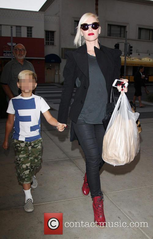 Gwen Stefani and Kingston Rossdale 28