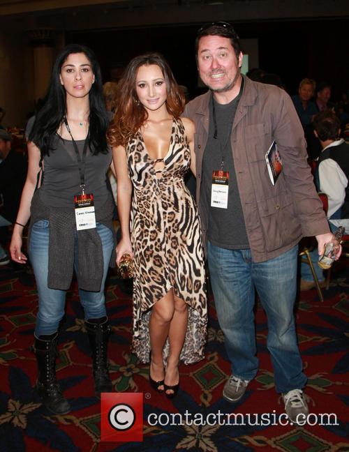 Sarah Silverman, Amy Markham and Doug Benson 4