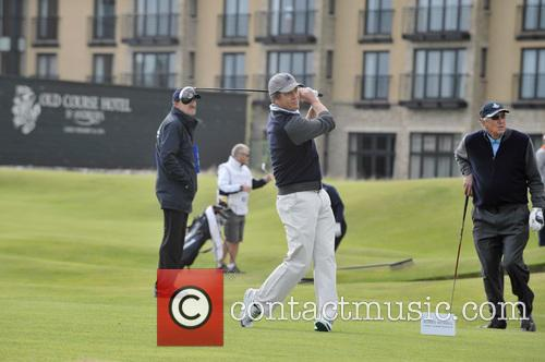Hugh Grant, Neels Els, Old Course