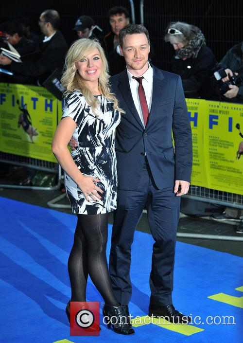 Joy Mcavoy and James Mcavoy 2
