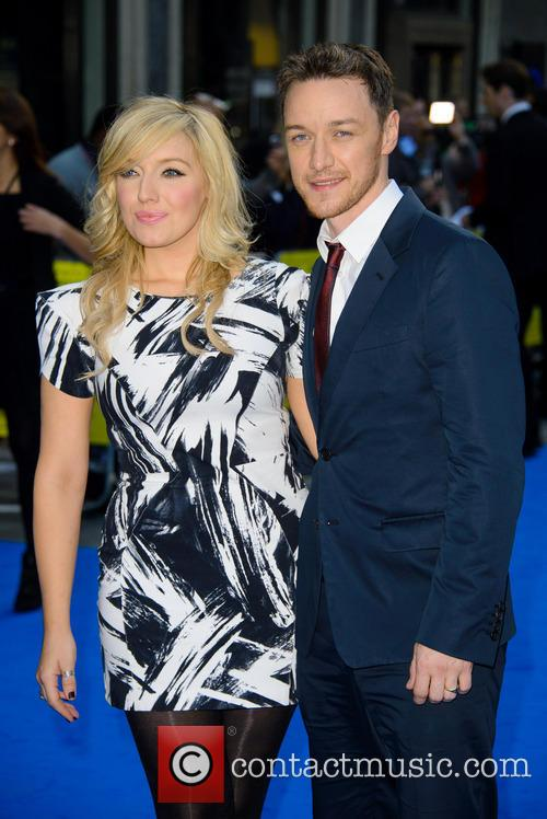 Joy Mcavoy and James Mcavoy 1