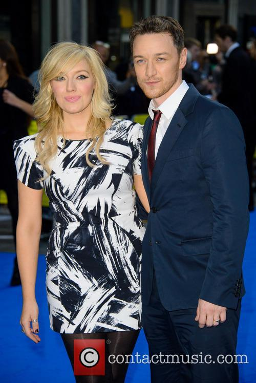 Joy Mcavoy and James Mcavoy 5
