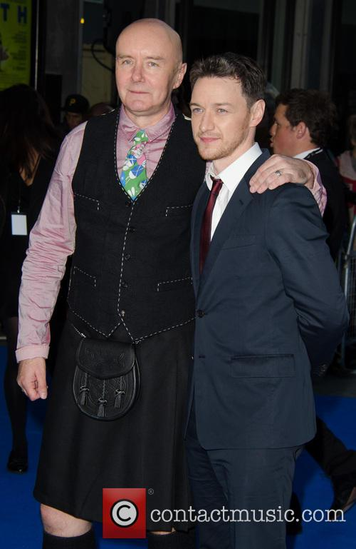 Irvine Welsh and James McAvoy 1