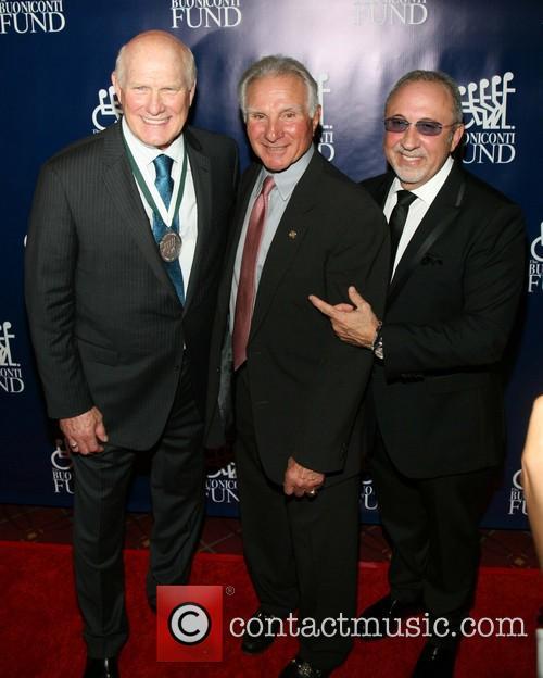 Terry Bradshaw, Nicholas A. Buoniconti and Emilio