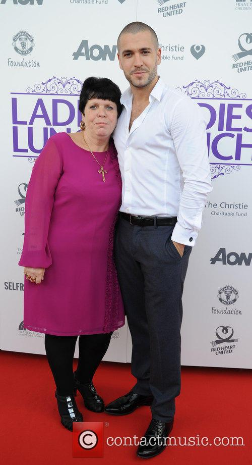 Shayne Ward and And Mother 4