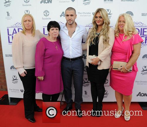 Shayne Ward, Faye Mckeever, Mother and Two Sisters