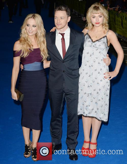 Joanne Froggatt, James Mcavoy and Imogen Poots 2