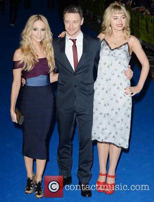Joanne Froggatt, James Mcavoy and Imogen Poots 5