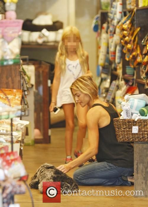 Denise Richards and Lola Rose Sheen 2