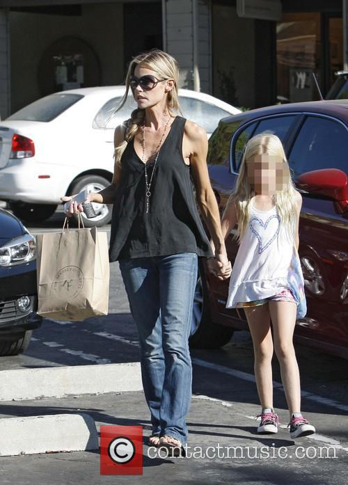 Denise Richards and Lola Rose Sheen 3