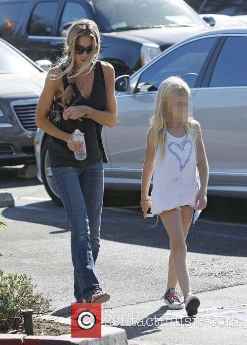 Denise Richards and Lola Rose Sheen 1
