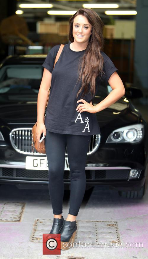 charlotte crosby celebrities at the itv studios 3887359