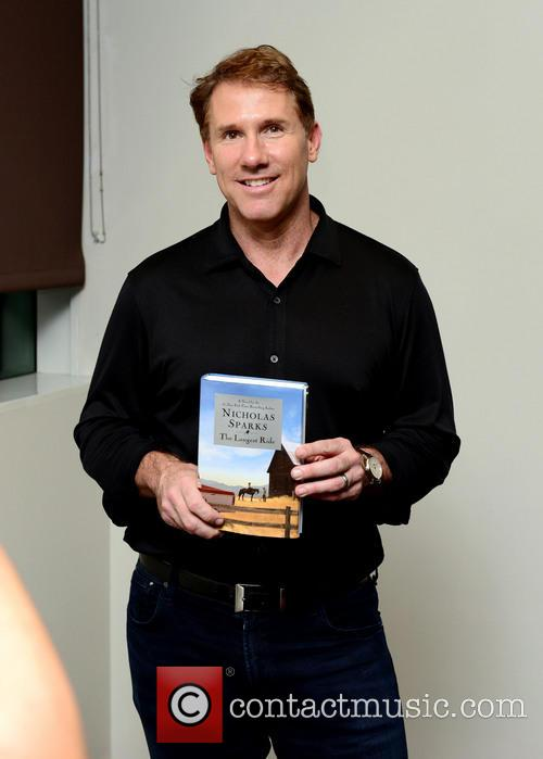 Nicholas Sparks promotes his book 'The Longest Ride'