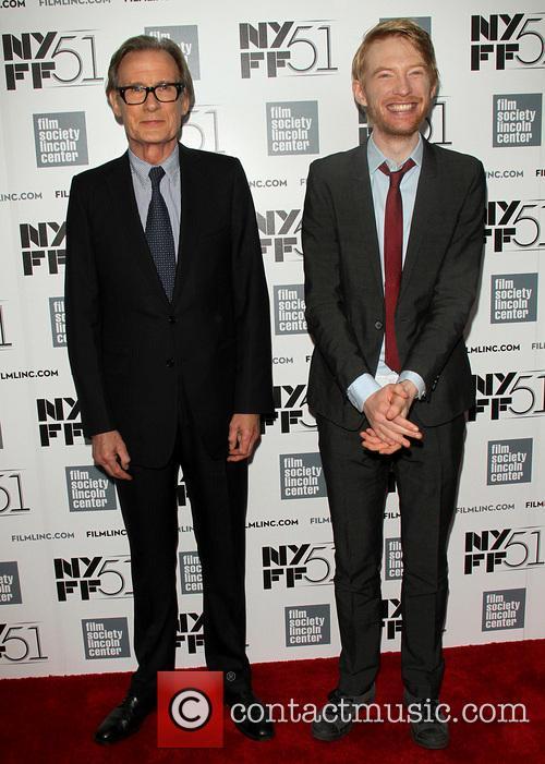 Bill Nighy and Domhnall Gleeson 5