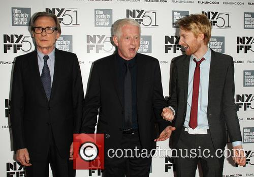 Bill Nighy, Richard Curtis and Domhnall Gleeson 2